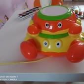 Музыкальный краб очень классная интересная игрушка