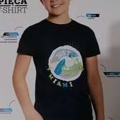 Блиц-цена! Классная футболка на 11 лет рост 146! из Польши! качество премиум! хлопок!