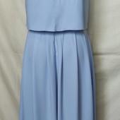Шикарное нежное платье с разрезом спереди,Asos,s/m