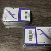 Зубочистки с нитью новые запечатанные