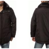 Высококачественная стильная фирменная термо куртка зимняя мужская.Франция.Оригинал