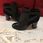 Ботинки із натуральної шкіри і замші,від Minel,розмір 41,стелька 27.Новинка