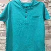 Lupilu бирюзовая футболка хенли 110-116 см