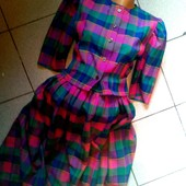 Отличное качество √√ Пог 46 см,Пот 37 см ,красивый костюм в клеточку √√ без дефектов ,этоно стиль.