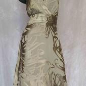 шифоновое платье с шелковым  рисунком