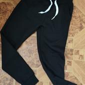 Спортивні штани з начосом для хлопчиків Glo-Story 134/140/146р. р.Чорні