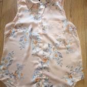 Красивенная шёлковая блузочка H&M. Размер 40.