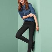 Стильные моделирующие фигуру стрейч-брюки от тсм tchibo. Размер 36 евро