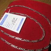 Прекрасный подарок!!Серебряная красивая цепочка- 925 пр. . Новая с биркой!