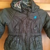 куртка, холодная весна, внутри флис, размер 12-18 месяцев 80 см, Mexx. состояние отличное