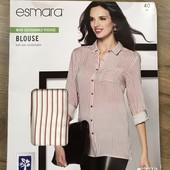 Женская нежная блуза туника рубашка блузка esmara германия, 100% вискоза