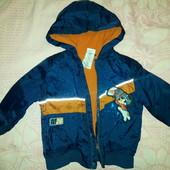 Курточка на мальчика 2-3 года, тёплая, США