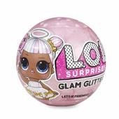 Лол Глем гліттер новинка оригінал L.o.l. surprise Glam glitter series. Велика куля. Оригінал