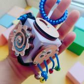 БизиКубик Развивающая игрушка для детей от 0,5 до 3лет лет