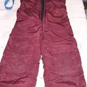 Теплые штаны полукомбенизон 3-4года смотрите замеры