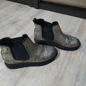 Ботинки кожаные детские Foletti р.33 б\у