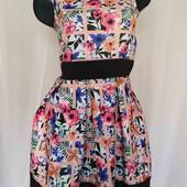 платье из плотного трикотажа -неопрен