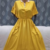 Шикарное лёгкое платье, р. S