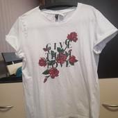 Трикотажная футболка Divided by H&m. p. M