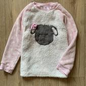 Плюшевая кофта пижама