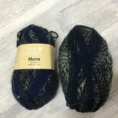 ☘ 4 шт ☘ Пряжа для в'язання Muro (Німеччина), : 152 М/100 гр