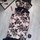 Крутенное платье велюр 3D цветы бант на поясе валаны рюши