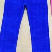 Джинсы, брюки яркие 110-122см
