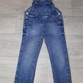Комбенизон Джинсовый,на модницу 2-3 года,фирмы H&M,Состояние Отличное!