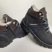Акція! нові черевики зима 40,41,42,43 р шт повноміри