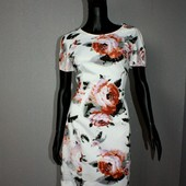 Качество! Стильное платье в 3/d цветочный принт от бренда Autograph, новое состояние