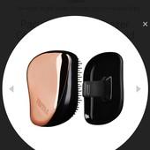 Оригинал расческа Tangle Teezer compact styler pink black