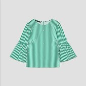 Блуза с жемчужинами Zara ( р.S)