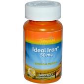 Идеальное железо для поднятия гемоглобина, 50 мг, 60 таблеток, Америка
