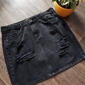 Джинсовая юбка,состояние новой