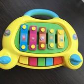 Ксилофон пианино свинка пепа фирма HTI toys!!!