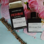 60мл с феромонами!Lancome Miracle-женственный нежный и легкий аромат мечты! лот фото 1