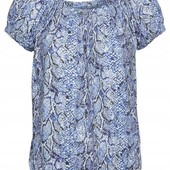 Симпатичная, фирменная, качественная блузка. Пр-во Турция. р-р: 44/46. новая. описание
