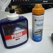 Мужская водичка 50 мл+ спрей-дезодорант 50 мл