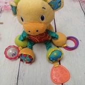 развивающая игрушка - погремушка, грызунок для малышей