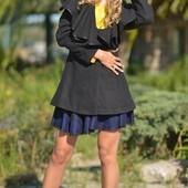 Кашемировое пальто стильного кроя. LipinskayaBrand,размер S.