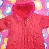 Рекомендую!!! Куртка-пальто для девочки 1-2 лет