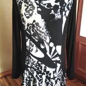 Брендовое трикотажное платье Micha, Дания, размер-М /L