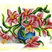 Схема для вышивки бисером формата А4 на ткани