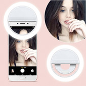 Селфи кольцо selfie ring light selfie ring light