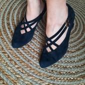 Gabor! Полностью натуральные элегантные туфли, 24-24,5 см