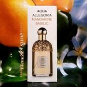 Сочный и яркий Aqua Allegoria Mandarine Basilic! Искрящийся аромат желания!