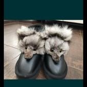 Ботинки, угги натуральные