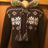 Кофта, куртка, внутри на флисе, p. М. Tchibo. сост. отл