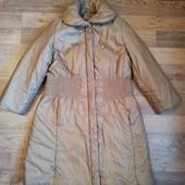 Женское деми пальто р. 44-48