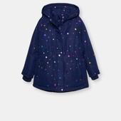 Одна на выбор.Куртка синяя размер 110 (евро-зима,осень) и бордо размер 92